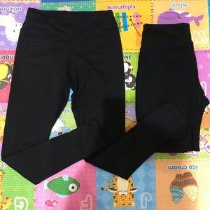 Pants - Black Full Length Leggings